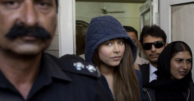 Pakistan agog as arrested top model leaves catwalk for court