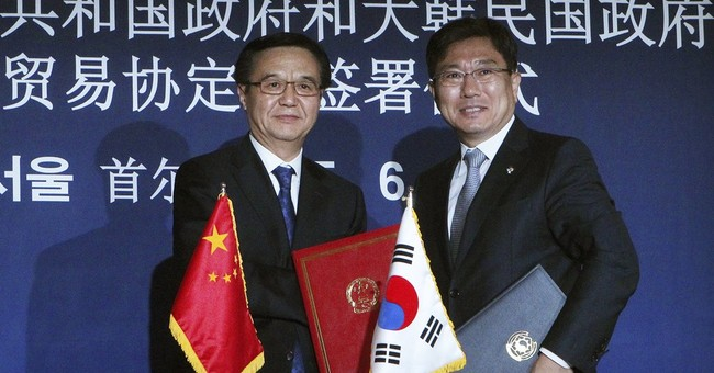 South Korea, China sign free trade deal