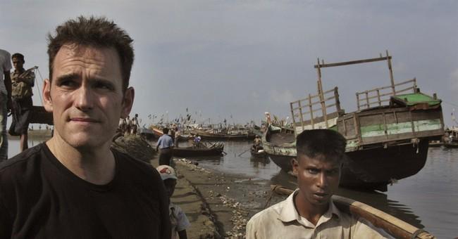 Actor Matt Dillon puts rare celebrity spotlight on Rohingya