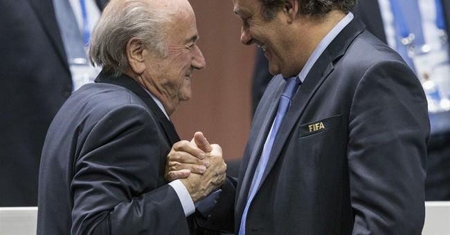 Platini cancels UEFA meeting on anti-Blatter tactics