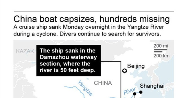 The Latest on China Boat Sinking: More divers at rescue site