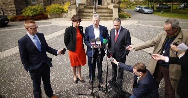 UK says future of Northern Ireland power-sharing 'grim'