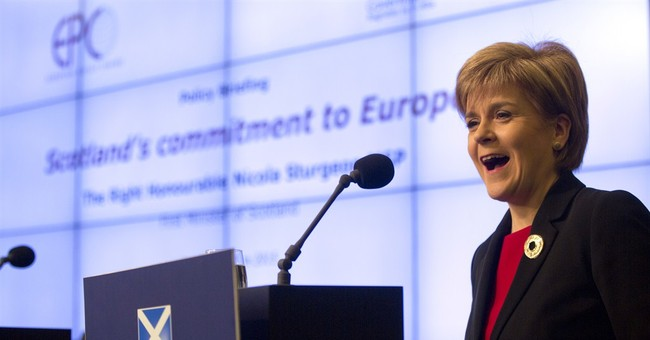 Scottish leader warns of backlash from British EU referendum