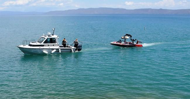 Boat capsizes in Utah windstorm; man, 3 children killed