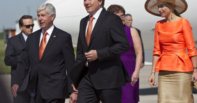 Netherlands king, queen visit Michigan as part of US tour
