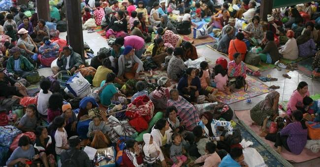 Indonesia raises alert status of volcano to highest level