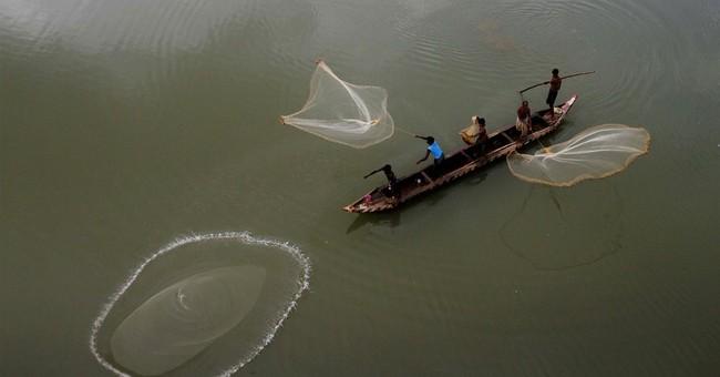 Image of Asia: Fishing on the Mahanadi
