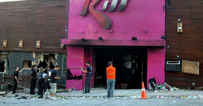 Brazil court convicts 2 firefighters in nightclub fire