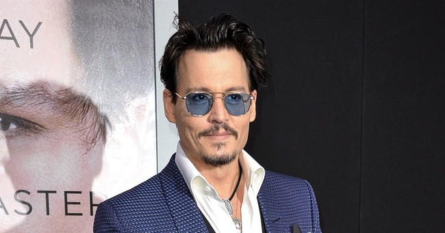 Johnny Depp takes on a new scent for Christian Dior