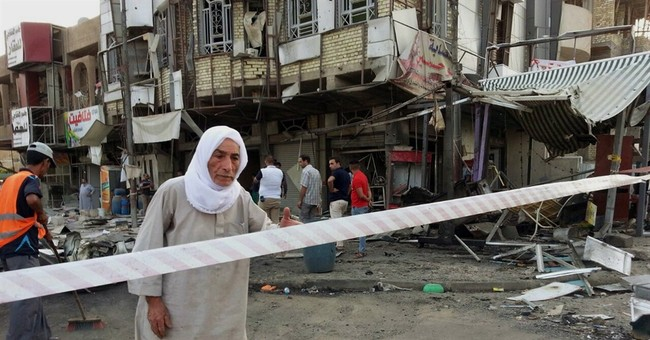 Officials say bombings kill 11 people in Iraq's capital