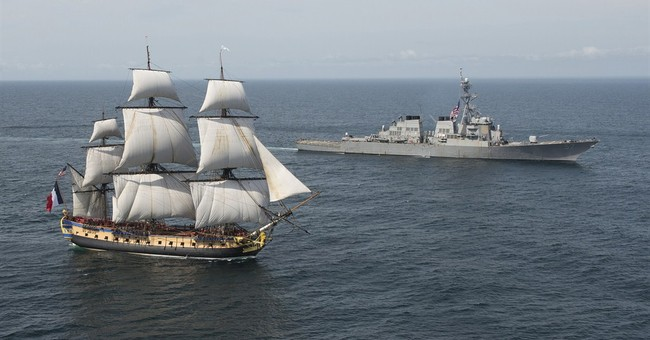 Replica of Revolutionary War-era French ship to arrive in US