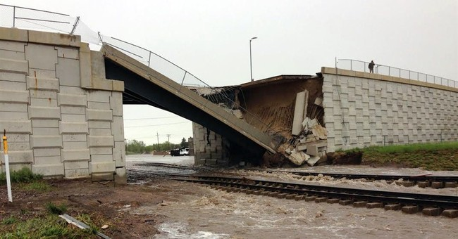 Flash flooding damages homes, cuts off small Wyoming town