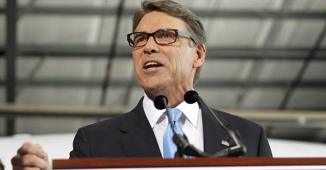 Rick Perry goes at it again, launches 2016 bid