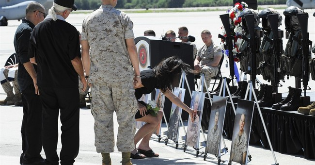 Memorial honors Marines killed in helicopter crash in Nepal
