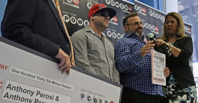 Plumber wants to keep working after $136 million jackpot