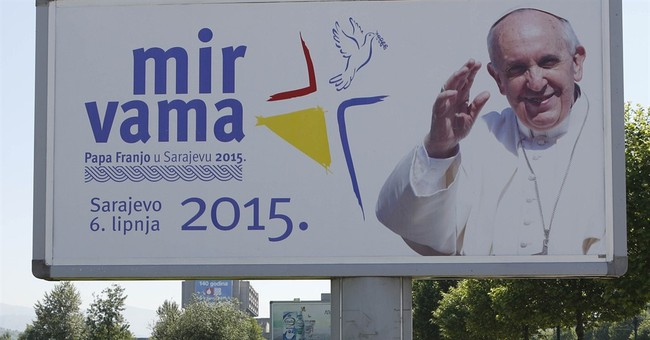 Pope hopes to bridge religious divide in war-scarred Bosnia