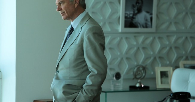 While heads roll, a FIFA-backed movie opens in the US