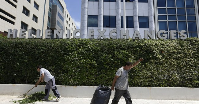 Asian stocks lower on Greek impasse