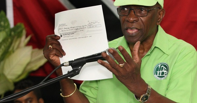 In Trinidad, former FIFA executive seen as 'our Robin Hood'