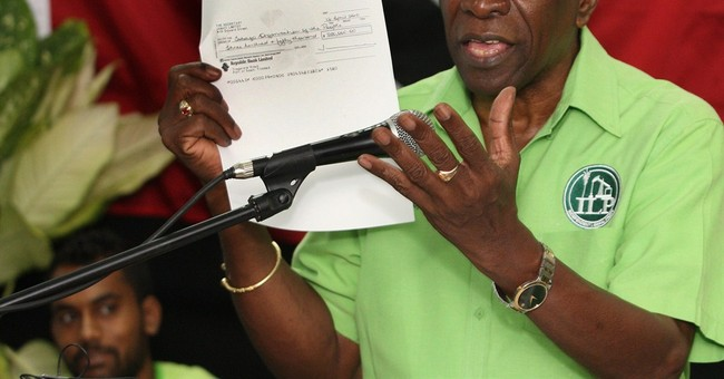 Former FIFA VP Warner makes televised address in Trinidad