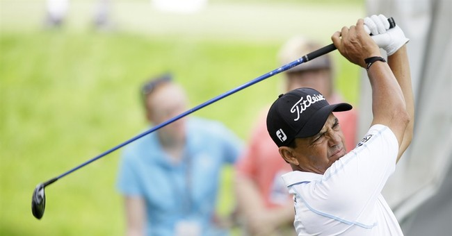 Billy Andrade, Jose Coceres share Champions Tour lead