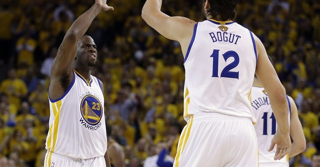 Warriors hold off James, Cavs for 108-100 OT win in Game 1