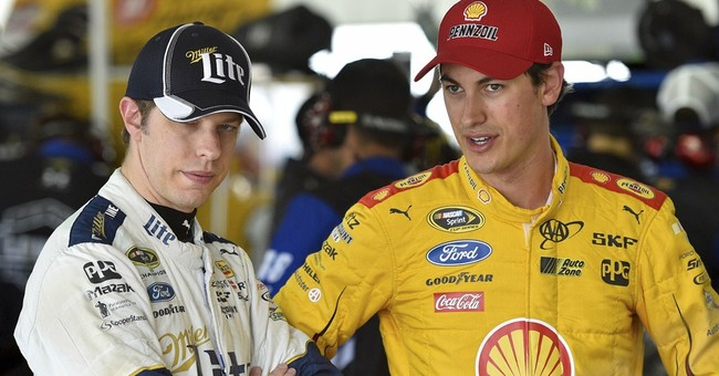 Logano takes bite out of Hollywood with 'Sharknado' cameo