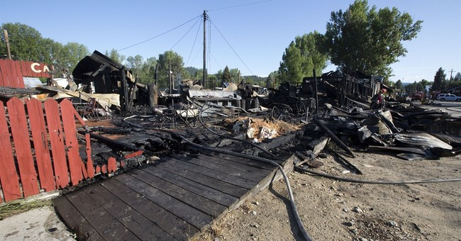 Blaze destroys businesses in heart of Idaho tourist city