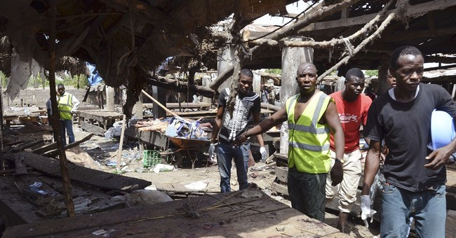 Suicide bombs rip through Nigerian marketplace killing 29