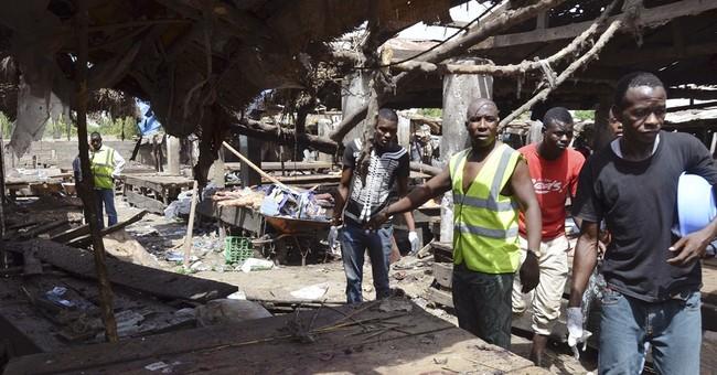 Suicide bombs rip through Nigerian marketplace killing 29