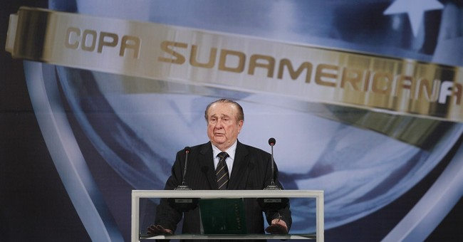 Former South American soccer boss mired in FIFA scandal