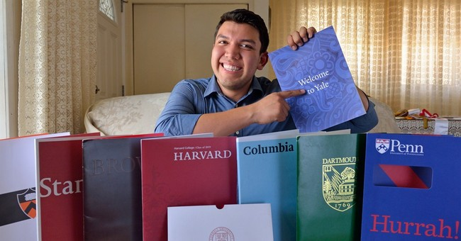 California student accepted to every Ivy League school