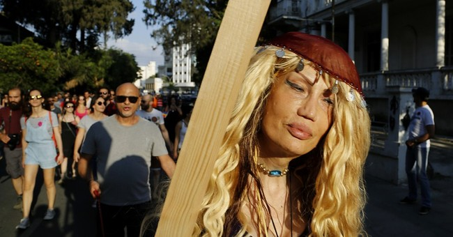Thousands turn out for Cyprus' 2nd gay pride parade