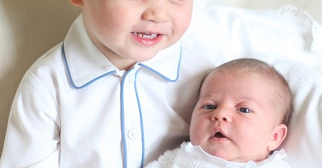UK royals release first official Princess Charlotte photos