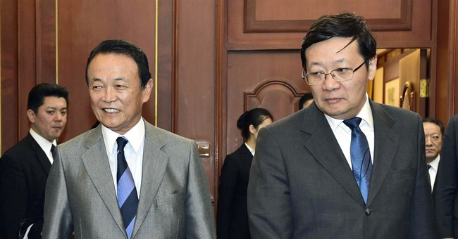 China, Japan hold finance talks stalled amid tensions