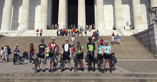 Cross-country bike trip aims to inspire young scientists
