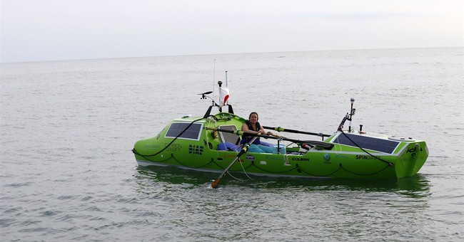 Partial packing list for rowboat crossing the Pacific