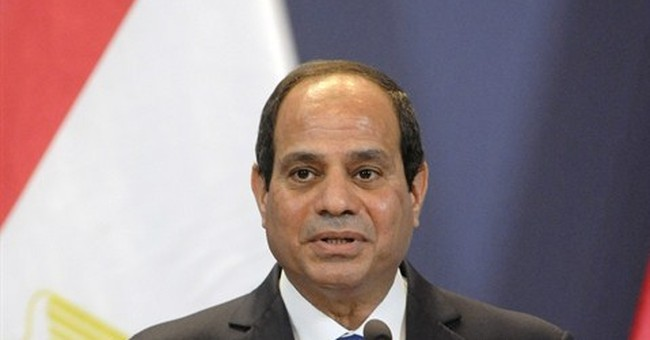 Egypt's president issues rare apology after lawyer beaten