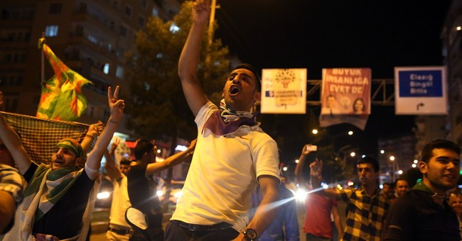 Turkish ruling party seen losing majority in parliament