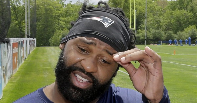 Patriots release Spikes after his car found abandoned