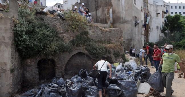 Algerians volunteer clean up historic Casbah amid neglect