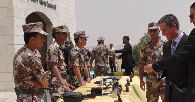 Jordan military unveils border surveillance with Iraq, Syria