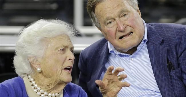 No high-flying antics for George H.W. Bush's 91st birthday