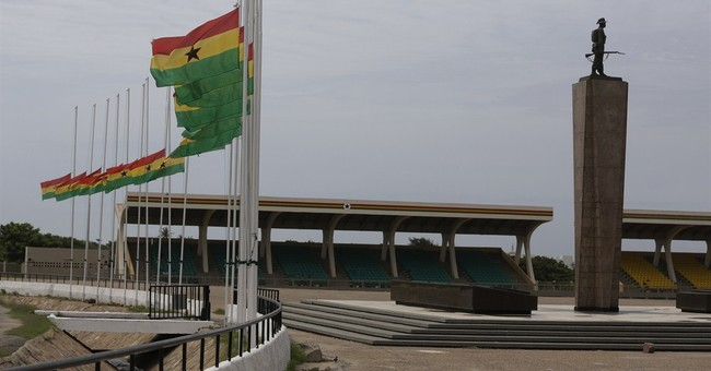 Residents search for missing in aftermath of Ghana blast