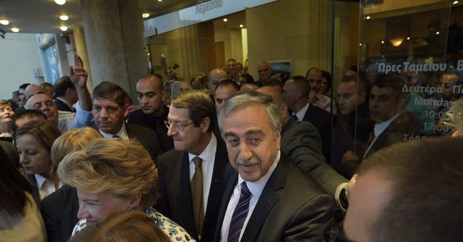 Cyprus' rival leaders attend theatrical play to foster trust