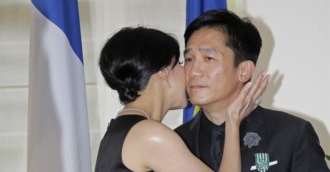 Hong Kong actor Tony Leung receives French arts honor
