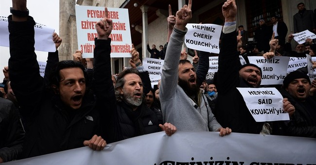 Scores honor perpetrators of French attacks in Istanbul