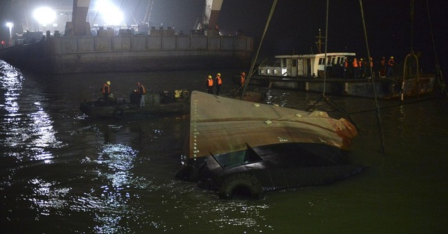 21 confirmed dead in tugboat capsizing in eastern China