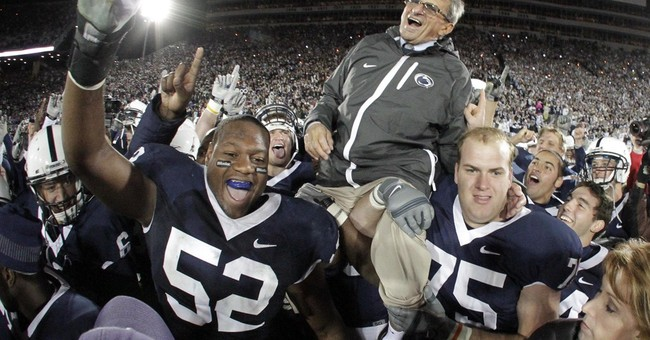 AP PHOTOS: Looking back at the late Joe Paterno's career