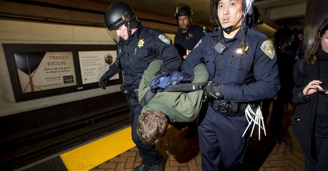 San Francisco protest at transit stations leads to arrests